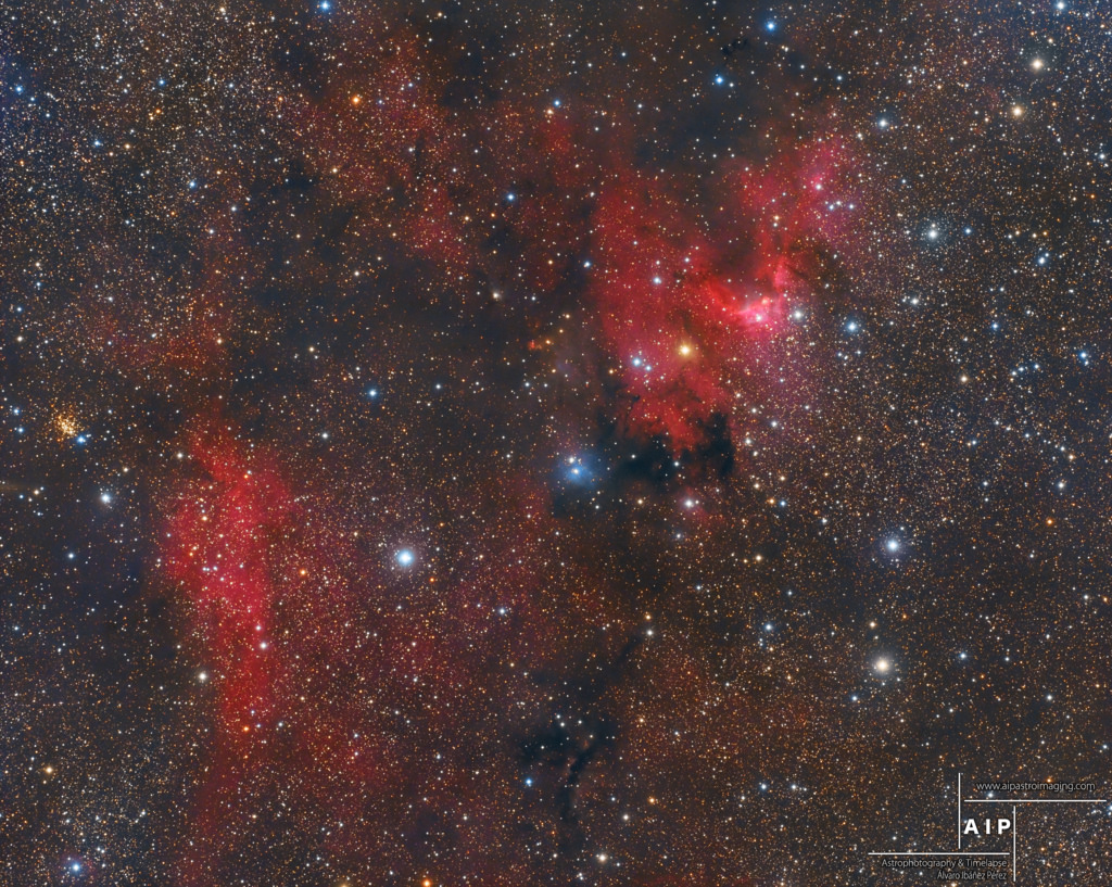 Sh2-155, cave nebula, nebulosa caverna, aipastroimaging